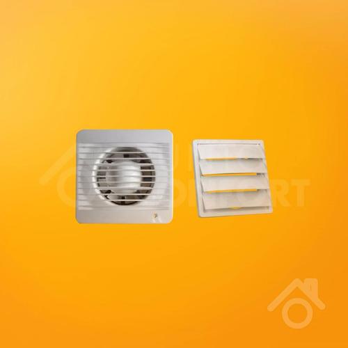 extractor de baño 4 pulgadas (10 cm) + persiana movil. promo
