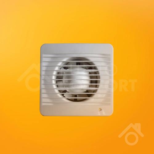 extractor de baño 6 pulgadas (15 cm) + persiana (2 unidades)