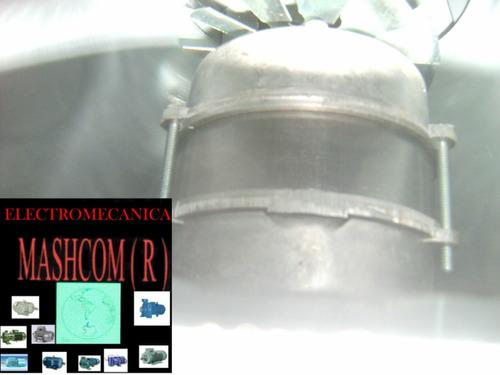 extractor de chimena  de 8  pulgadas centrifugo