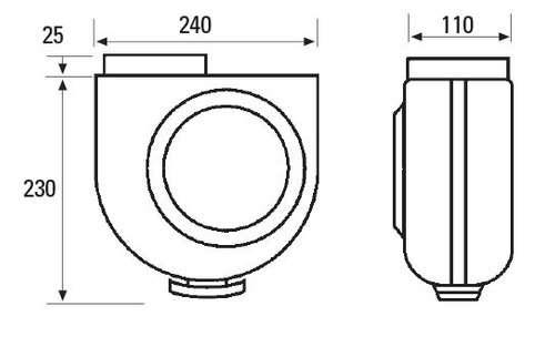 extractor de cocina cata serie gs 400 p