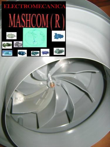 extractor de humo  parrillero centrifugo  de 8  pulgadas