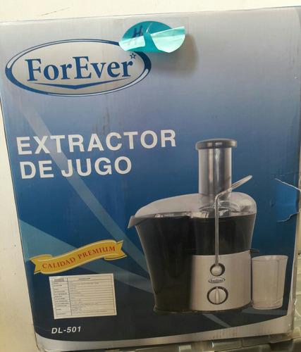 extractor de jugo forever