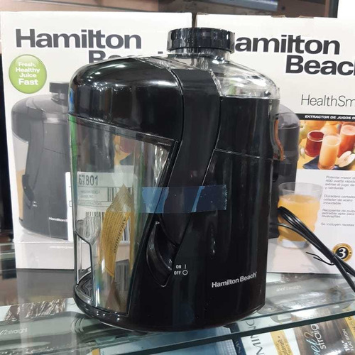 extractor de jugo hamilton beach