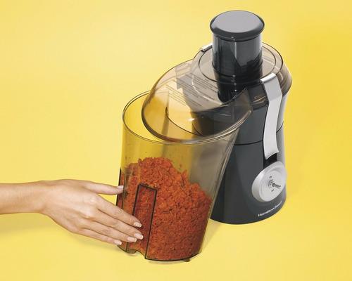extractor de jugo hamilton beach potente 67650 800 wats vaso