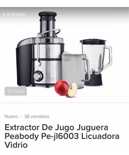 extractor de jugo peabody