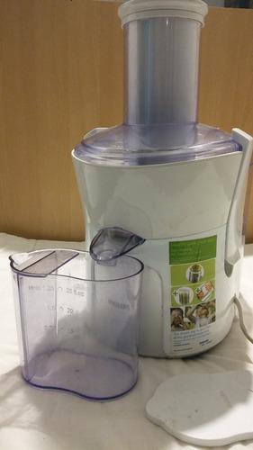 extractor de jugo philips