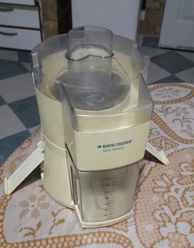 extractor de jugos black&decker