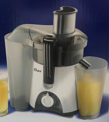 extractor de jugos oster + jarra capacidad de 750 ml