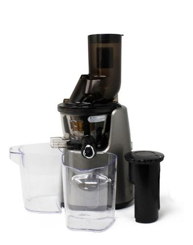 extractor de jugos prensa fría domestico plata kuvings c7000