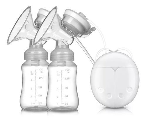 extractor de leche electrico, doble bomba, usb