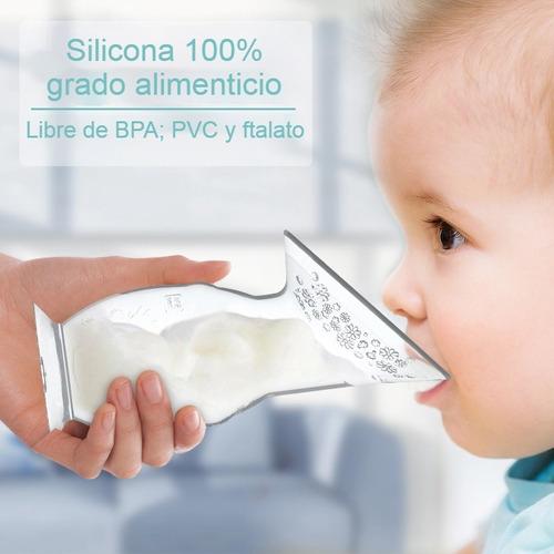 extractor de leche materna eléctrico doble con recolector