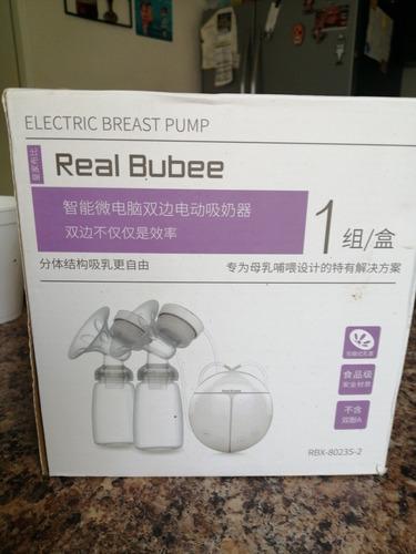 extractor de leche materna eléctrico real bubee