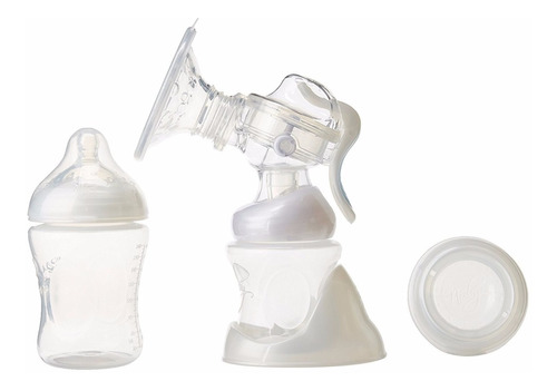 extractor de leche materna set completo nuby natural