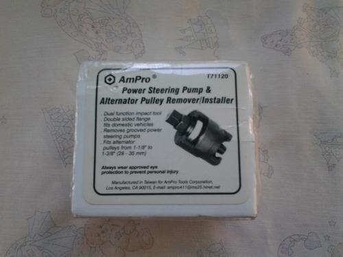 extractor de polea de direccion y alternadores marca ampro