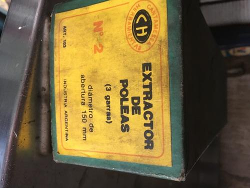 extractor de poleas y rulemanes