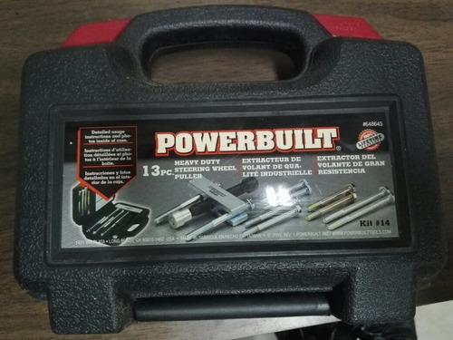 extractor de volantes marca powerbuilt