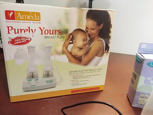 extractor eléctrico de leche doble ameda purely yours+bolsas