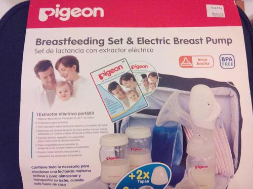 extractor eléctrico de leche materna