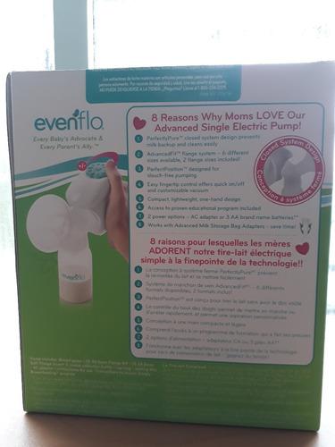 extractor eléctrico saca leche individual avanzado evenflo