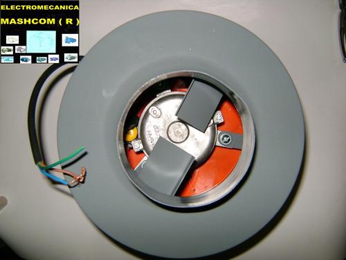 extractor entre caño de 4 pulgadas-soplador para aire frio