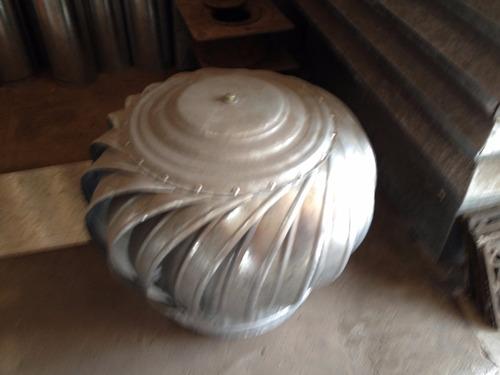 extractor eolico galvanizado 10´