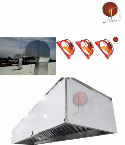 extractor grasa, ventiladores, eólicos, campana