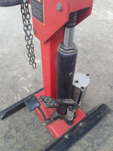 extractor hidráulico de espirales