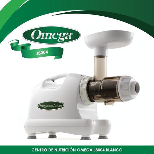 extractor horizontal de jugos, prensa fría omega j8004