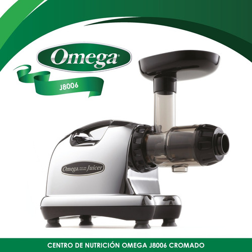 extractor horizontal de jugos, prensa fría omega j8006