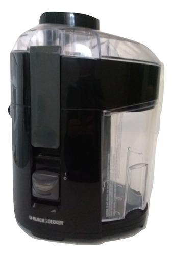 extractor jugo black decker