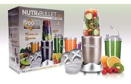 extractor jugos alimentos batidos nutribullet 900w 15 piezas