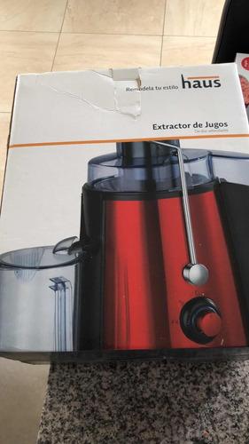 extractor jugos haus