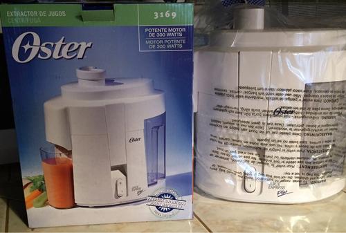 extractor jugos oster nuevo