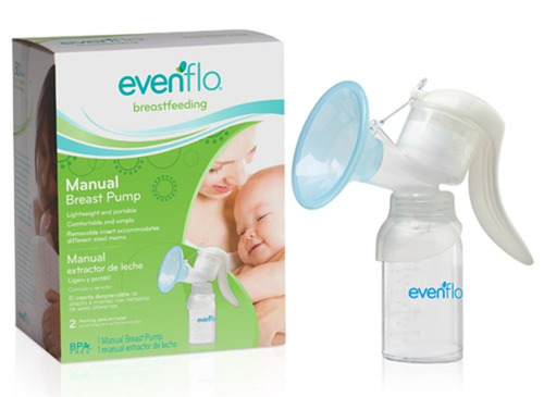 extractor manual de leche materna evenflo simplygo