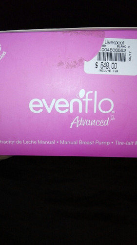 extractor manual evenflo