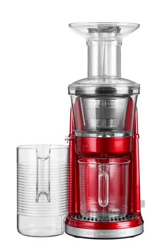 extractor máximo de jugos kitchenaid rojo 220v