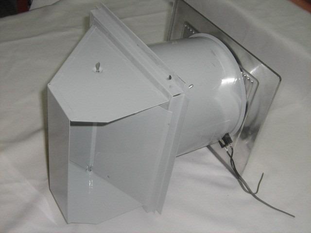 Extractor nutone p ba o o ventilaci n p muro telescopico - Instalacion extractor bano ...