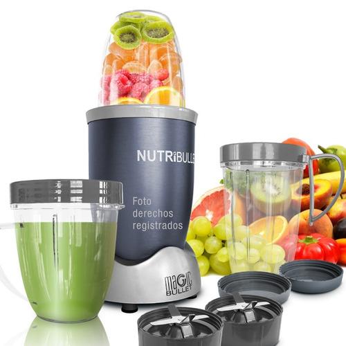 extractor nutricional nutribullet 600 wts 12 piezas batidos