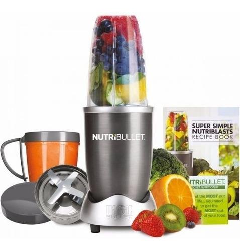 extractor nutrientes 900w 15 piezas nutribullet pro