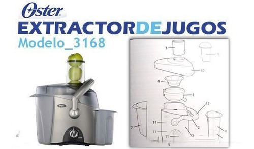 extractor oster para