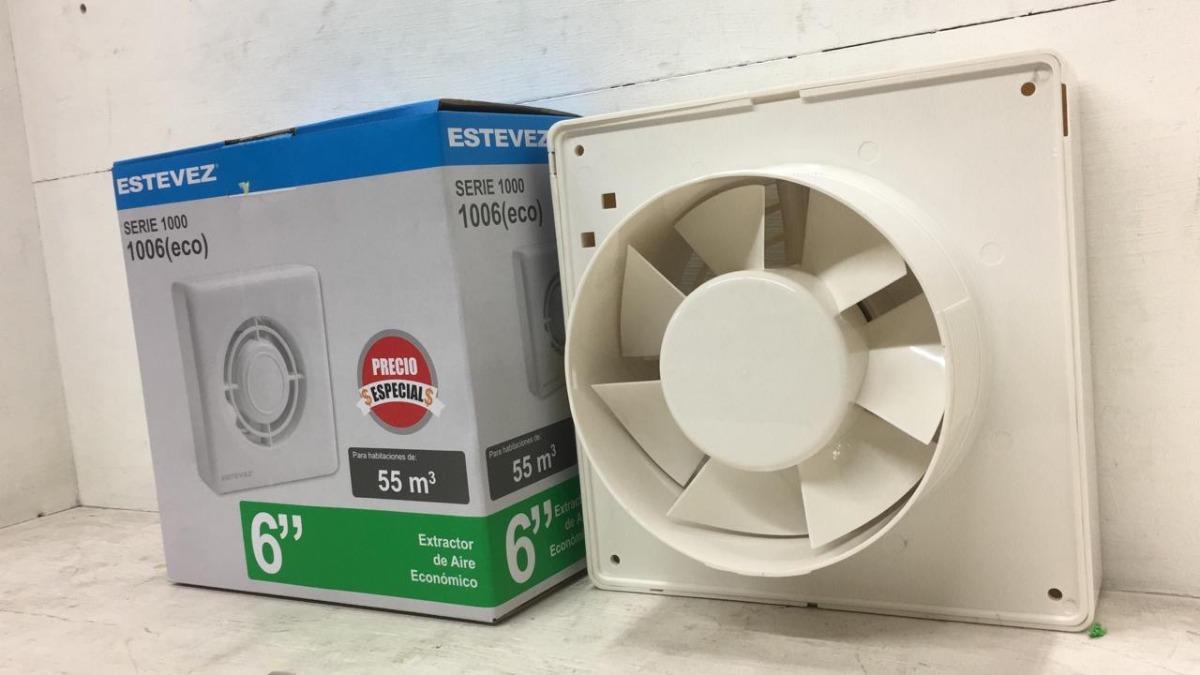 Extractor De Aire Para Baño 6 Estevez - $ 899.00 en ...