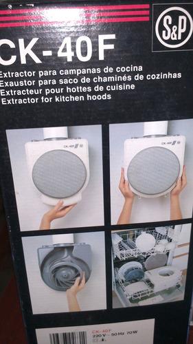 extractor para cocina soler y palau ck40