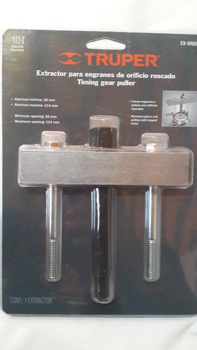 extractor para engranajes de orificio roscado marca truper
