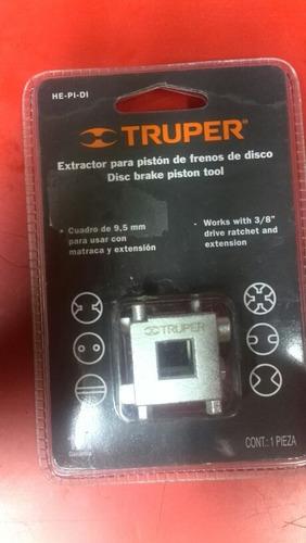 extractor para pistón de frenos truper