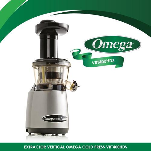 extractor prensado en frío omega juicers vrt400hds