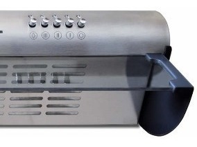 extractor purificador de cocina axel ax-800 acero inoxidable