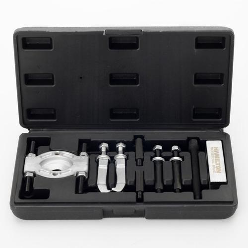 extractor ruleman rodamientos kit 9pcs maletin hamilton