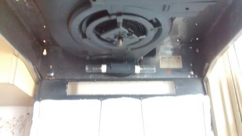extractor spars de cocina acero inoxidable purificador c/luz