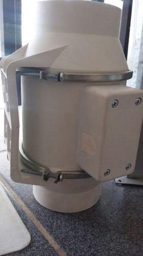 extractor td-160/100 industrial aire 120 volt silencioso.