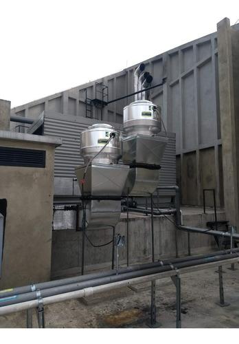 extractor tipo hongo humo, calor, olores y mantenimiento
